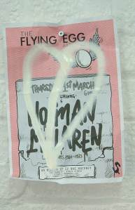 Norman Mclaren - A4 Found recycled out-of-date flyer (March 2012)