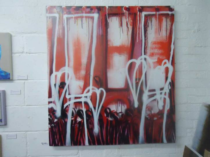 2013 - Exclaiming behind the growth of another found canvas