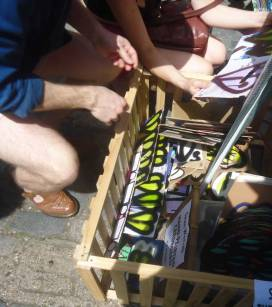 Brick Lane Art Car Boot Fair 2014