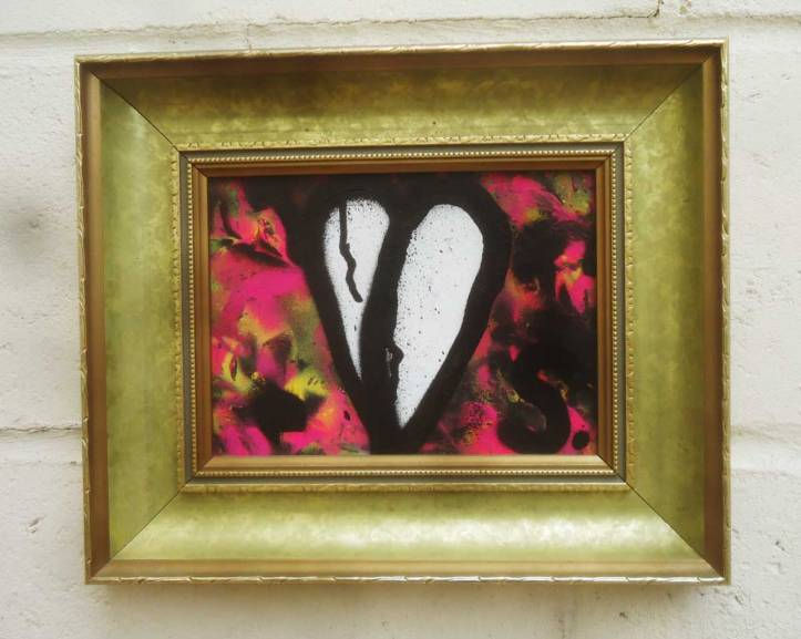 WHITE LEAF - 26cm x 36cm including frame,