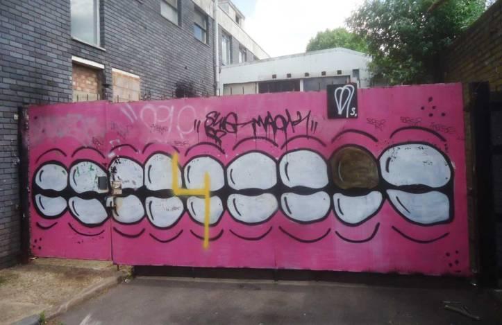 #365ArtDrops Part 131, Hackney WickEd