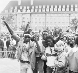 Hip-Hop Jam, London, 1984 (Photo: Martin Jones)