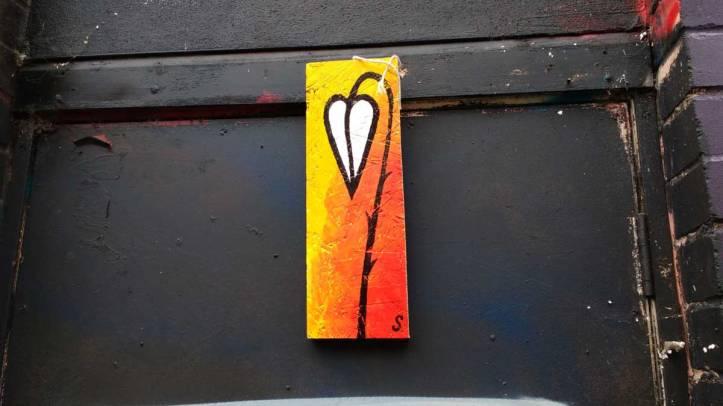 #ArtDrops, March 2016, Clare Street