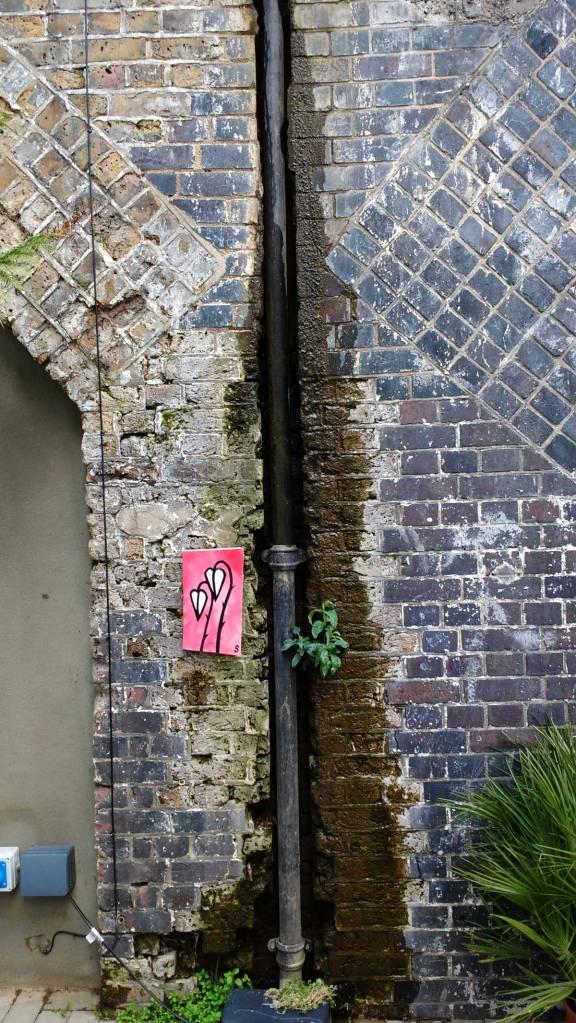 An Art Drop, left outside to be taken...